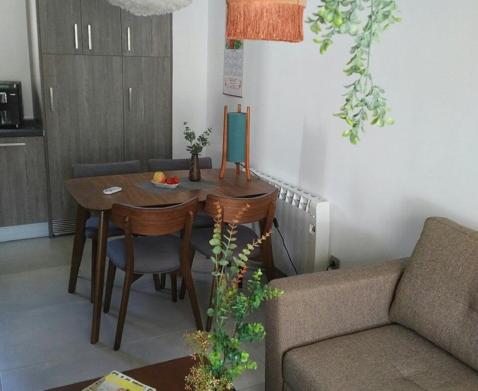 Cocina sala de estar comedor