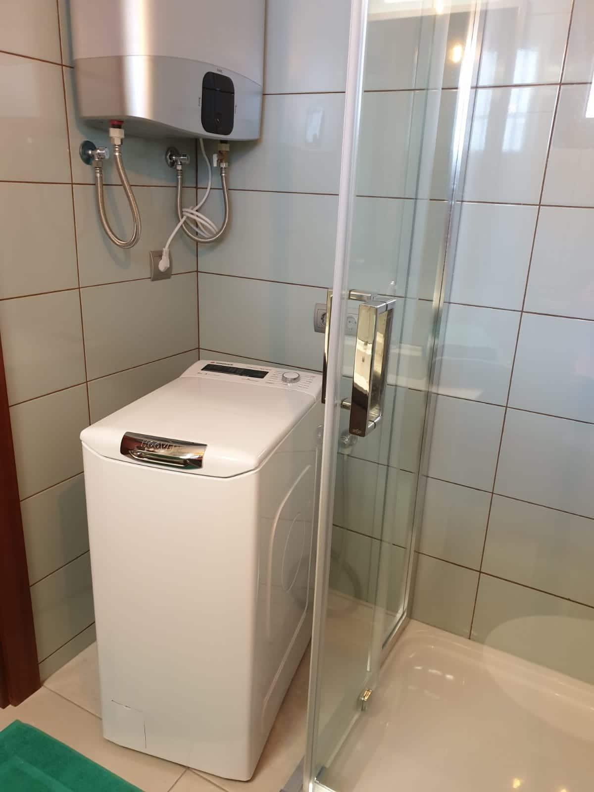Lavadora Ducha Calentador